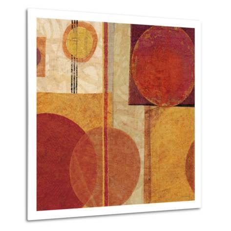 Geo Tea I-Sue Schlabach-Metal Print