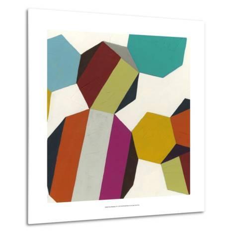 Poly-Rhythmic IV-Erica J^ Vess-Metal Print