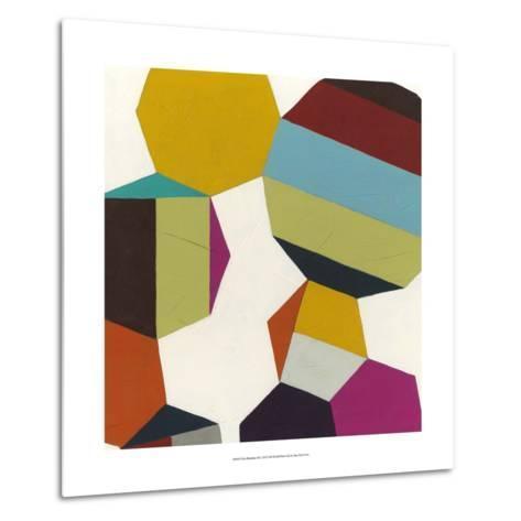Poly-Rhythmic III-Erica J^ Vess-Metal Print