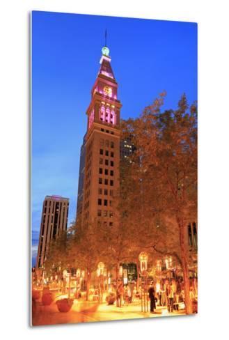 Daniel's and Fisher Tower, 16th Street Mall, Denver, Colorado, United States of America-Richard Cummins-Metal Print