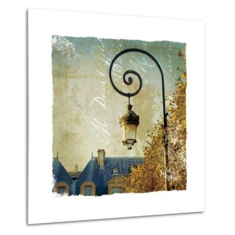 Golden Age of Paris II-Wild Apple Photography-Metal Print