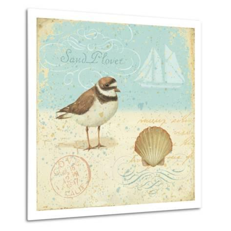Natural Seashore I-Daphne Brissonnet-Metal Print