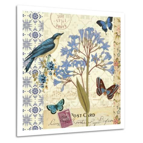 Blue Notes I-Pela Design-Metal Print