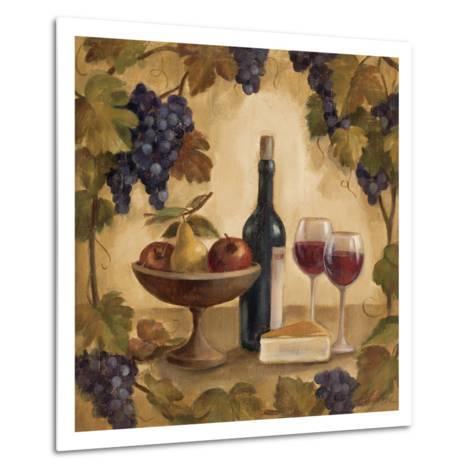 Wine and Cheese I-Silvia Vassileva-Metal Print