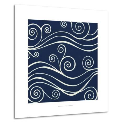 Ocean Motifs II-Erica J^ Vess-Metal Print