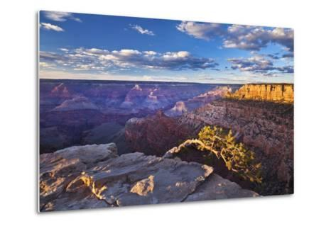 Pipe Creek Vista Point Overlook, South Rim, Grand Canyon Nat'l Park, UNESCO Site, Arizona, USA-Neale Clark-Metal Print