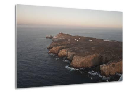 Aerial Photo of Anacapa, Channel Islands National Park, California, United States of America-Antonio Busiello-Metal Print