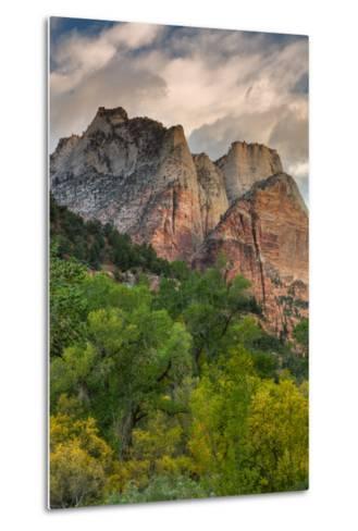 Inside Zion Canyon-Vincent James-Metal Print