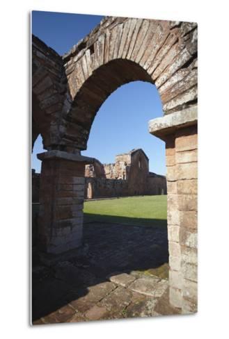 Ruins of Jesuit Mission at Trinidad, UNESCO Site, Parana Plateau, Paraguay-Ian Trower-Metal Print