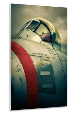 Sabre Cockpit-David Bracher-Metal Print