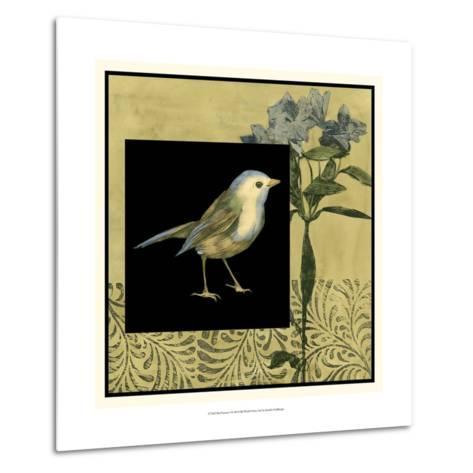 Bird Fantasy I-Jennifer Goldberger-Metal Print