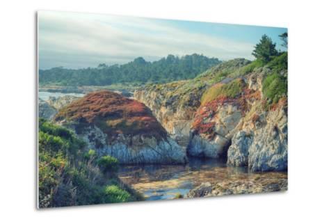 Colorful Point Lobos Seascape-Vincent James-Metal Print