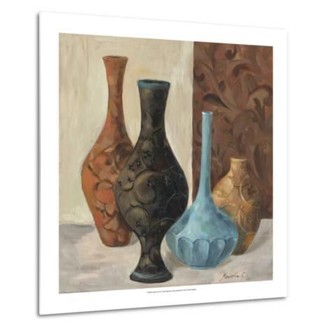 Spa Vases II-Marietta Cohen-Metal Print
