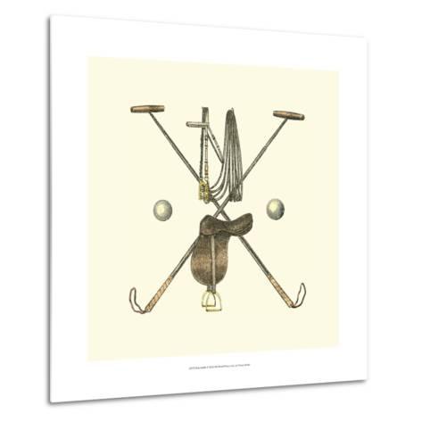 Polo Saddle-Vision Studio-Metal Print