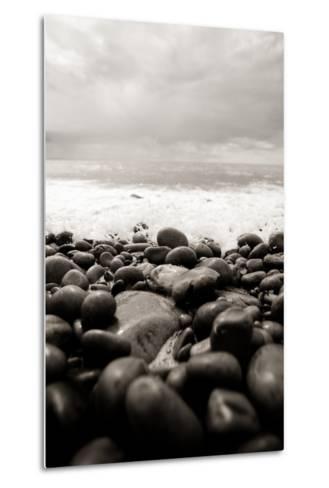 Waves Study-Craig Howarth-Metal Print