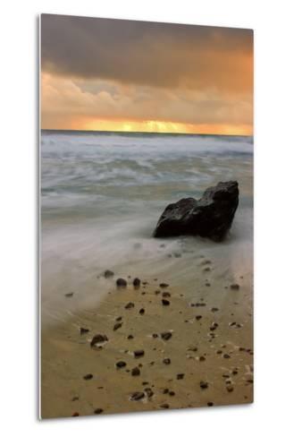 Sunset Rocks-Vincent James-Metal Print