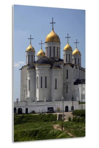 Cathedral of the Dormition of the Theotokos, Vladimir, Russia-Kymri Wilt-Metal Print