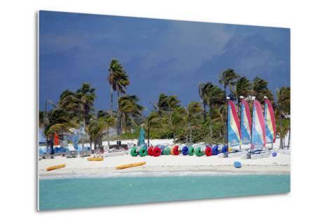 Watercraft Rentals at Castaway Cay, Bahamas, Caribbean-Kymri Wilt-Metal Print