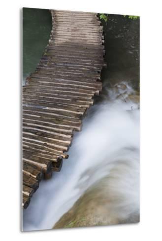 Typical Plank Path, Plitvice Lakes, Plitvicka Jezera, Croatia-Martin Zwick-Metal Print