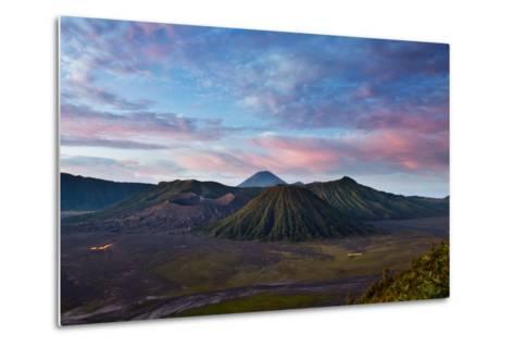 Mount Bromo Volcano and Bromo Tengger Semeru National Park-Alex Saberi-Metal Print