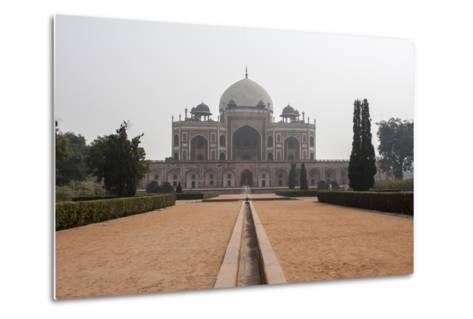 The Tomb of the Mughal Emperor Humayun, a UNESCO World Heritage Site-Jonathan Irish-Metal Print