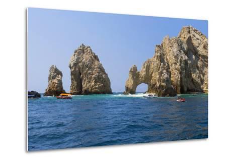 El Arco, the Arch, Cabo San Lucas, Baja, Mexico-Douglas Peebles-Metal Print