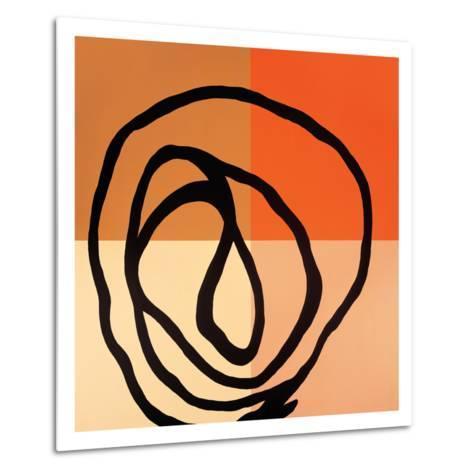 Swirl Pattern III-Gregory Garrett-Metal Print