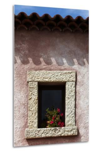 A Window of the Tenuta Pilastru Near Arzachena, Sardinia-Dave Yoder-Metal Print