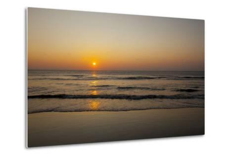 Sunrise At the Beach in Corolla, North Carolina-John Burcham-Metal Print