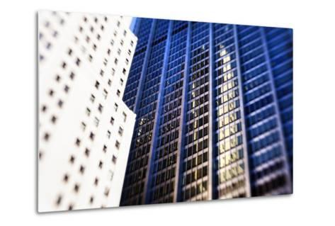 Architecture in the Financial District of New York City-Keith Barraclough-Metal Print