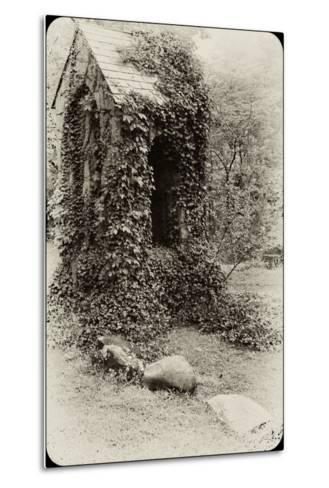 The Old Bell Tower at Warren Wilson College, Covered in Vines-Amy & Al White & Petteway-Metal Print