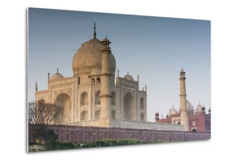 The Taj Mahal Seen from the Banks of the Yamuna River-Jonathan Irish-Metal Print