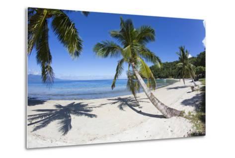 Beach, Waitatavi Bay, Vanua Levu, Fiji-Douglas Peebles-Metal Print