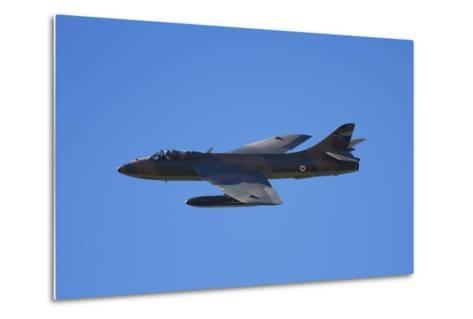 Hawker Hunter Jet Fighter, War Plane-David Wall-Metal Print