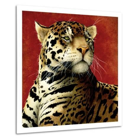 Fire Cat-Will Bullas-Metal Print