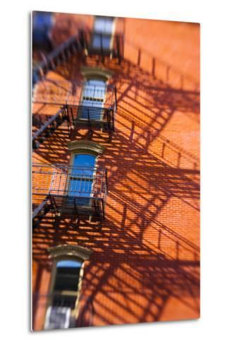 Architecture in the SoHo, Cast Iron Historical District of New York-Keith Barraclough-Metal Print