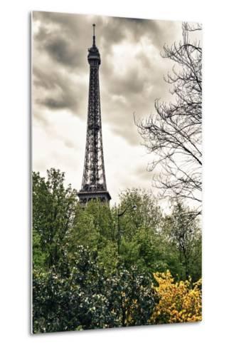 The Eiffel Tower - Paris - France-Philippe Hugonnard-Metal Print