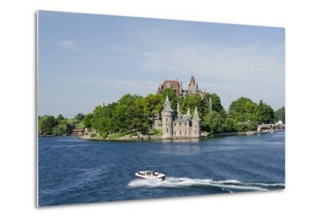 Boldt Castle, 'American Narrows', St. Lawrence Seaway, Thousand Islands, New York, USA-Cindy Miller Hopkins-Metal Print