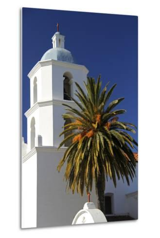 Old Mission San Luis Rey De Francia, Oceanside, California, USA-Kymri Wilt-Metal Print