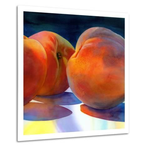 Just Peachy-Terri Hill-Metal Print