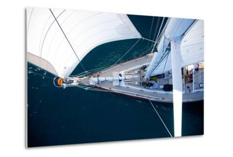 A Sailboat from the Tip of the Mast-Ben Horton-Metal Print