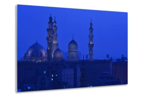 Minarets of Sultan Hassan and Rifai Mosques in Old Cairo-Kenneth Garrett-Metal Print