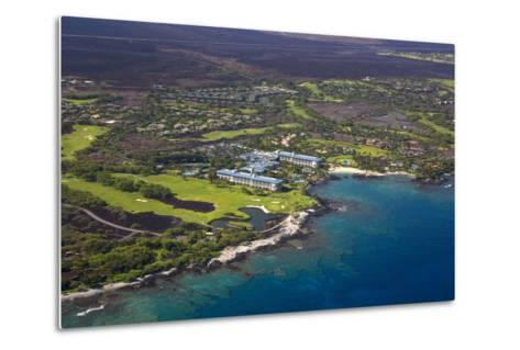 Mauna Lani Resort, North Kohala, Big Island, Hawaii, USA-Douglas Peebles-Metal Print