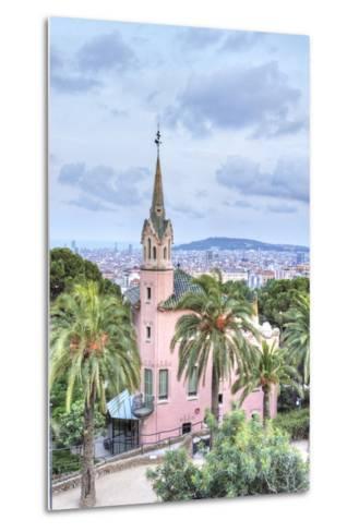 Gaudi House Museum, Park Guell, Barcelona, Spain-Rob Tilley-Metal Print
