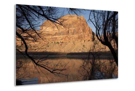 Early Morning Light Along the Colorado River Near Moab, Utah-Scott S^ Warren-Metal Print