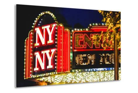 New York New York - Casino - Las Vegas - Nevada - United States-Philippe Hugonnard-Metal Print