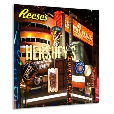 Advertising - Hershey's - Times Square - Manhattan - New York City - United States-Philippe Hugonnard-Metal Print