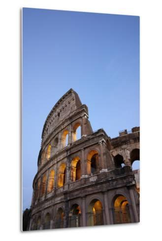 Outside Rome's Colosseum At Dusk-Dave Yoder-Metal Print