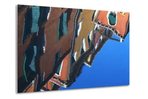 Buildings Reflecting On the Surface of the Canal Water-Joe Petersburger-Metal Print