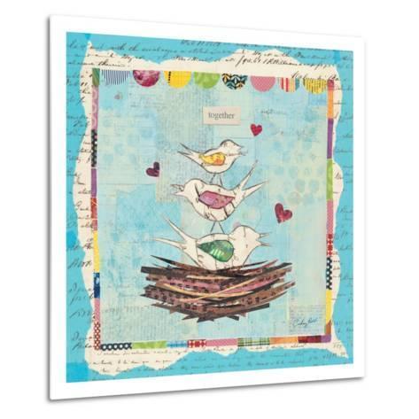 Family of Love Birds-Courtney Prahl-Metal Print